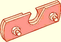 Metal roof snow guard bracket
