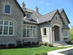 Zinc-Asphalt Composite Roofing